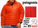 patagonia M'S DOWN SWEATER JACKET RED ORANGE パタゴニア エムズダウン ジャケット セーター レッド 赤 オレンジ 橙 メンズ 男性 レディース 女性 トップス ライト アウター アウトドア ブランド カジュアル ストリート スポーツ ウェア 機能性 軽量 正規品 本物