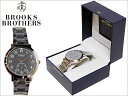 BROOKS BROTHERS ブルックスブラザーズ BROOKSBROTHERS WRIST WATCH STAINLESS STEEL BAND BLACK 黒 SILVER 銀 ブルックスブラザーズ ..