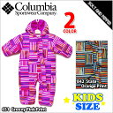 COLUMBIA STNGGLY BUNNY BUNTING GROOVY PINK PRINT STATE ORANGE PRINT コロンビア スナッグリー...