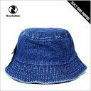 NEWHATTAN BUCKET HAT DARK BLUE DENIM ニューハッタン デニム バケットハット CAP キャップ ハット 再入荷 1530
