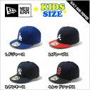 NEWERA ニューエラ 59FIFTY CAP KIDS YANKEES REDSOX DODGERS BRAVES BLACK WHITE RED BLUE...
