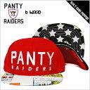 BRIAN WOOD PANTY RAIDERS USA FLAG SNAPBACK CAP WINS OUT GLOW RED ブライアンウッド パンティーレイダース スナップバック キャップ レッド 赤 コミック 漫画 帽子 B WOOD メンズ 男性 レディース 女性 カジュアル 星条旗