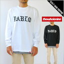 THE WHOLENINE ザ ホールナイン PABLO ESCOBAR L/S T-SHIRTS TEE WHITE BLACK 長袖 Tシャツ プリント ホワイト 白 ブラック 黒 トップス メンズ 男性 レディース 女性 ストリート ヒップホップ HIPHOP WLT002-FW16