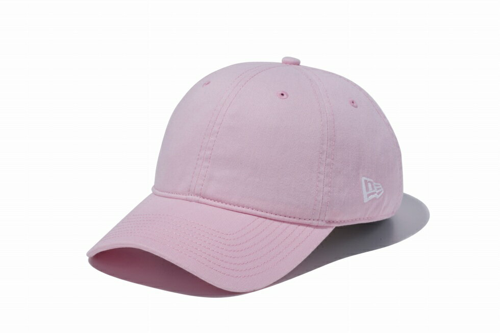 NEWERA ニューエラ 9TWENTY Cloth Strap ウォッシュドコットン ベーシック ピンク メンズ 男性 無地 レディース 女性 帽子 ハット 小物 アクセサリー 送料無料 NEW ERA 国内正規品 正規取扱店