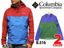 COLUMBIA WABASH JACKET Red Blue �R�����r�A ���o�V�� �W���P�b�g �u