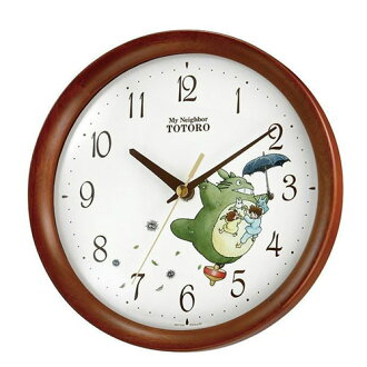 Totoro clock hung キャラクターク rock Totoro M27 8 and became CITIZEN citizen rhythm watch MGA27RH06 fs3gm