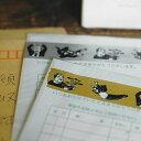 倉敷意匠 マスキングテープ ナンシー関 おじさん 1巻パック 2センチ幅 20mm KS-MT002 マステ お父さん 中年 金/銀 手帳