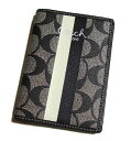 [10% OFF] COACH/ coach passport case F60600SBWBK [Luxury Brand Selection] [lady's gift] 10P03Mar13 [lapping free of charge] SS10P03mar13 [easy ギフ _ packing] [RCP] [fsp2124]