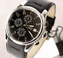 It is 10P17May13 D&G TIME ドルガバ SANDPIPER chronograph watch black 3719770097 [Luxury Brand Selection] [easy ギフ _ packing] [RCP] [men gift] [lapping free of charge]