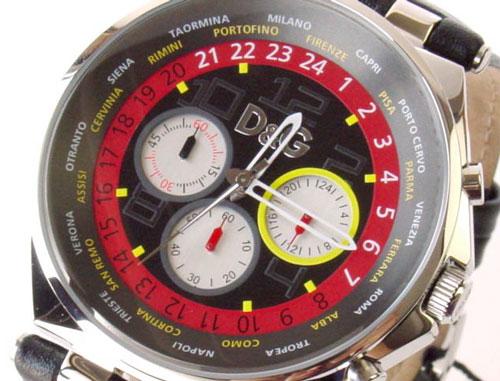 D&G TIME ドルチェ&ガッバーナ UNIQUE クロノグラフ腕時計 3719770194 ブラック【ラッピング無料】【_包装】【10P11Mar16】【05P03Dec16】 【送料無料】【全品ポイント5倍】【300円OFFクーポン】