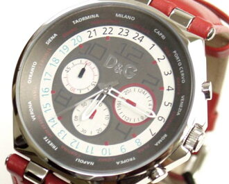 3719770204 D&G TIME ドルガバ UNIQUE chronograph watch 05P14Nov13fs3gm