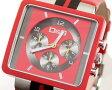 D&G TIME ドルチェ&ガッバーナ CREAM クロノグラフ腕時計 DW0064 レッド×ブラック【ラッピング無料】【楽ギフ_包装】【10P11Mar16】