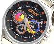 D&G TIME ドルチェ&ガッバーナCODE NAME クロノグラフ腕時計 DW0209 SSベルト【ラッピング無料】【楽ギフ_包装】【10P11Mar16】【05P09Jul16】