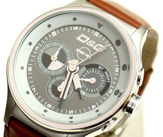 D&G TIME ドルガバ CODE NAME chronograph clock DW0210 business 05P30Nov13