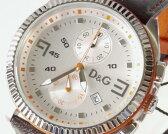 D&G TIME ドルチェ&ガッバーナ LOU CRONO クロノグラフ腕時計 DW0033 ブラウン【ラッピング無料】【楽ギフ_包装】【10P11Mar16】【05P29Aug16】