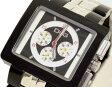 D&G TIME ドルチェ&ガッバーナ CREAM クロノグラフ腕時計 DW0059 ブラック×シルバー【ラッピング無料】【楽ギフ_包装】【10P11Mar16】【05P09Jul16】