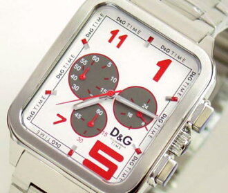 D & G TIME d & g GERONIMO chronograph SS belt clock silver DW0185 10P13Sep1310P24Aug1310P17Aug1310P04Aug13