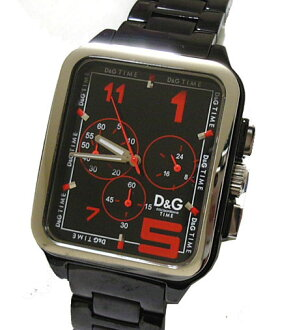 D&G TIME ドルガバ GERONIMO men chronograph watch SS belt DW0186 fs3gm05P10Nov13