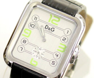 D&G TIME ドルガバ APACHE men watch DW0187 silver X black 05P22Nov13
