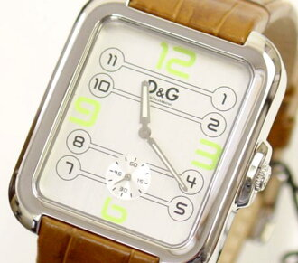 D&G TIME ドルガバ APACHE men watch DW0188 silver X brown 05P14Nov13fs3gm