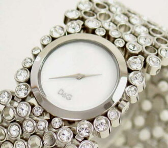 D & G TIME d & g RISKY ladies SS belt watch DW0243 10P17May13