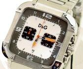 D&G TIME ドルチェ&ガッバーナLICENSED DW0246 クロノグラフ SSベルト時計 シルバー【ラッピング無料】【楽ギフ_包装】【10P11Mar16】【05P03Dec16】