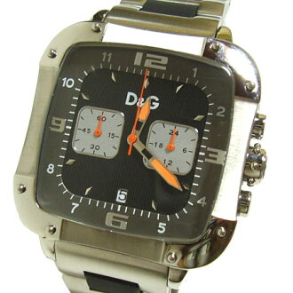 D&G TIME ドルガバ LICENSED chronograph SS belt watch DW0247 fs3gm05P10Nov13