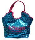 ショッピングキットソン KITSON/キットソン スパンコールトートバッグ Los Angeles Sequin Tote Blue/Pink【ラッピング無料】【楽ギフ_包装】