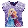 【まとめ割り対象商品】【着後レビュー記入で送料無料】Disney(ディズニー)FROZEN Elsa & Anna Tアナと雪の女王 エルサ&アナ Tシャツ 【子供服 4歳 6歳 8歳】