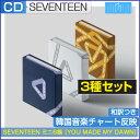 楽天SONAGIMART[ポスター無しでお得] 3種セット / SEVENTEEN ミニ6集 [YOU MADE MY DAWN]/1次予約/韓国音楽チャート反映
