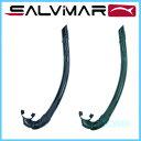 SALVIMAR(サルビマール) 【700100B/G】 SILICONAR black/green シリコネアー スノーケル