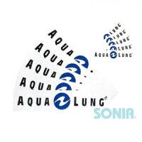 AQUALUNG(アクアラング) ステッカー(大) Stickerの画像