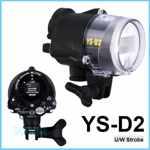 【納期1週間】SEA&SEA(シーアンドシー)【03117】YS-D2U/WStrobe水中ストロボ