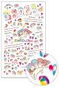 【キキ&ララ】極薄ネイルシール定着バツグンで爪にしっかりフィット♪【最新作】キキ&ララ極薄サンリオネ...