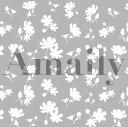 Amaily アメイリー ネイルシールNo.1-8 花シルエ...