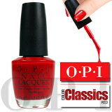 OPI ネイルラッカー A16 (15ml) 【O.P.I CLASSICS】 THE THRILL OF BRAZIL