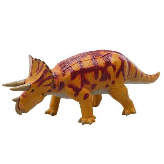 FAVORITE フェバリット 恐竜フィギュアビニールモデル トリケラトプス ブラウン