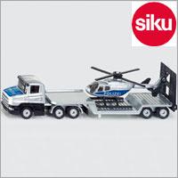 <ボーネルンド> Siku(ジク)社輸入ミニカー1610ヘリコプター輸送車