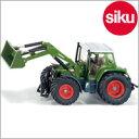 <ボーネルンド>Siku(ジク)社輸入ミニカー3554ファーマーフェントフロントローダー付トラクター1/32