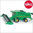 <ボーネルンド>Siku(ジク)社輸入ミニカー1876ファーマージョンディア9680iコンバイン収穫機1/87
