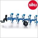 <ボーネルンド> Siku(ジク)社輸入ミニカー2051ファーマー鋤1/32スケールトラクター専用パーツ