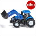 <ボーネルンド>Siku(ジク)社輸入ミニカー1355 ニューホランドトラクター(フロントローダー付き)