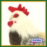 HANSA 绒毛玩具4198叫鸡30 ROOSTER[HANSA ぬいぐるみ4198 雄鶏 30 ROOSTER]