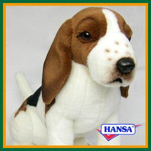 HANSA ハンサ ぬいぐるみ5862 ビーグル犬 34 BEAGLEの画像