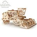 Ugears ユーギアーズ 木製組立立体パズル コンバインハーべスター