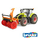 bruder ブルーダー プロシリーズ 03017 Claas Axion950 トラクター&スノーチェーンブロワー 1/16