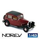 NOREV ノレブ 781031 ランチア オーガスタ 1933 ボルドー/ブラック 1/43