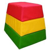 【】安心の国内生産 ウレタン遊具シリーズ 跳び箱型クッション [高田紙器] US-BOX 【smtb-tk】 【RCP】