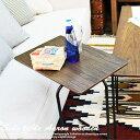 天然木 サイドテーブル ベットサイド ソファサイド テーブル