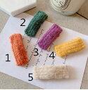 ショッピング毛糸 キュートな毛糸編みクリップ 秋冬 かわいい キュート